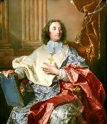 Portrait of Charles de Saint-Albin, Archbishop of Cambrai Hyacinthe Rigaud