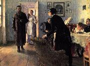 Oil on canvas painting by Ilya Repin, Ilya Repin
