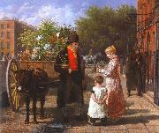 The Flower Seller Jacques-Laurent Agasse