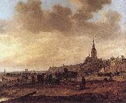 Beach at Scheveningen Jan van  Goyen