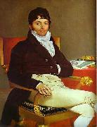 Portrait of Monsieur Riviere. Jean Auguste Dominique Ingres