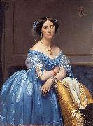Portrait of Princesse Albert de Broglie Jean Auguste Dominique Ingres
