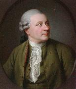 Portrait of Friedrich Gottlieb Klopstock (1724-1803), German poet Jens Juel