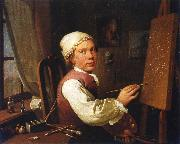 Self-portrait Jens Juel