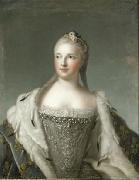 Marie-Josephe of Saxony, Dauphine of France previously wrongly called Madame Henriette de France Jjean-Marc nattier