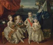 The children of Ferdinand of Parma Johann Zoffany