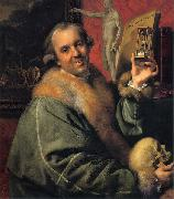 Self-portrait Johann Zoffany