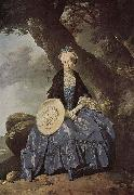 Portrait of Mrs. Oswald Johann Zoffany