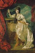 Portrait of female Johann Zoffany