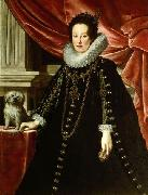 Anna of Medici, wife of archduke Ferdinand Charles of Austria Justus Sustermans