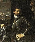 Portrait of Carlo Alberto Rati Opizzoni in Armour Lodovico Carracci