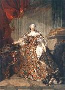 Portrait of Marie Leszczynska Queen of France Louis Tocque
