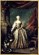 Portrait of Maria Teresa of Spain as the Dauphine of France Louis Tocque