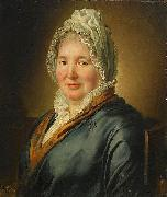 Portrait of Christina Elisabeth Hjorth Ludger tom Ring the Younger