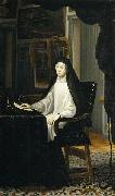 Portrait of Queen Mariana de Austria as a Widow Miranda, Juan Carreno de