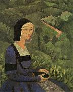 A Widow Painting Paul Serusier
