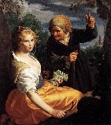 Vertumnus and Pomona Paulus Moreelse