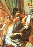 Girls at the Piano Pierre Auguste Renoir