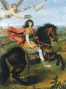 Louis XIV of France riding a horse Pierre Mignard