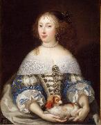 Portrait of Henrietta of England Pierre Mignard