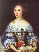 Portrait of Henriette of England Pierre Mignard