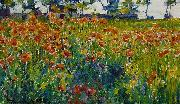 Poppies in France Robert William Vonnoh