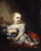 Portrait of Nicholas of Russia as a child Vladimir Lukich Borovikovsky