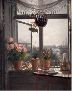 View from the Artist's Window martinus rorbye