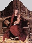 Virgin and Child Enthroned Adriaen Isenbrant
