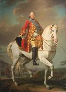 Louis-Philippe, Duc D'Orleans, Saluting His Army on the Battlefield Alexandre Roslin