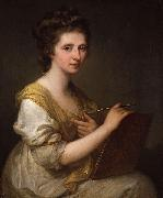 Self-portrait Angelica Kauffmann