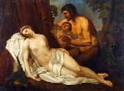 Venus inebriated by a Satyr Annibale Carracci