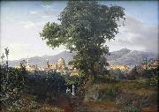 View of Florenz August Ahlborn