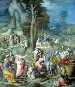 The Gathering of Manna BACCHIACCA