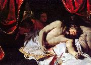 Suicide of Cato the Younger Charles Lebrun