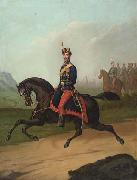Portrait of a Romanian cavalry officer Constantin Lecca