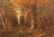 Forest in Autumn Courbet, Gustave