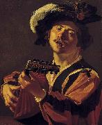 The Lute player Dirck van Baburen