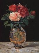 Bouquet of Peonies Edouard Manet