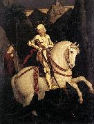 St George and the Dragon Franz Pforr