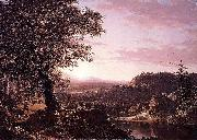 July Sunset, Berkshire County, Massachusetts Frederic Edwin Church