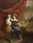 Charlotte of Prussia with children George Dawe