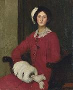 Portrait of Hilda Spencer Watson George Spencer Watson