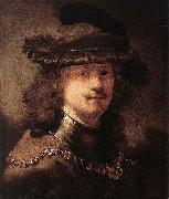 Portrait of Rembrandt Govert flinck