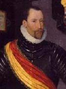 Cropped version of Portrait of Frederick II of Denmark and Norway Hans Knieper