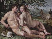 The Fall of Man Hendrick Goltzius