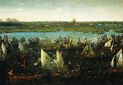 Battle of Haarlemmermeer, 26 May 1573 Hendrik Cornelisz. Vroom