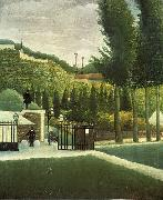 The Customs Post Henri Rousseau