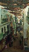Street of the Snakes in Seville Ilya Repin