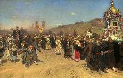 Easter Procession in the Region of Kursk Ilya Repin